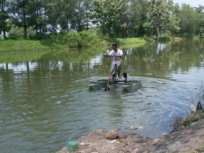 Ikut lomba, Teknik Mesin Unsyiah kembangkan sepeda air