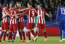 Hasil 1-1 lawan Leicester, Atletico lolos ke semifinal