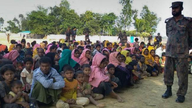 Gerakan pengungsi terbesar, jumlah Rohingya di Bangladesh capai 700 ribu orang