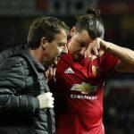 Cedera lutut, karier Ibrahimovic di MU terancam berakhir