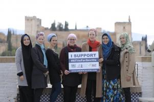 Muslim Sevilla Galang Dana Pembangunan Masjid Pertama