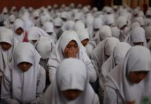 SMP IT Luqmanul Hakim Aceh gelar doa bersama sambut UN
