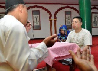 11 warga Wih Ilang Aceh Tengah masuk Islam