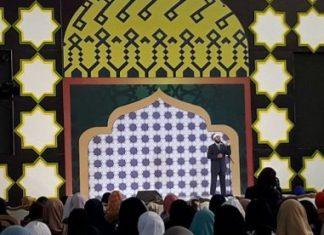 Ceramah Zakir Naik di Bandung, 4 orang masuk Islam