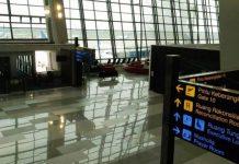 Agustus, penerbangan internasional pindah ke terminal 3