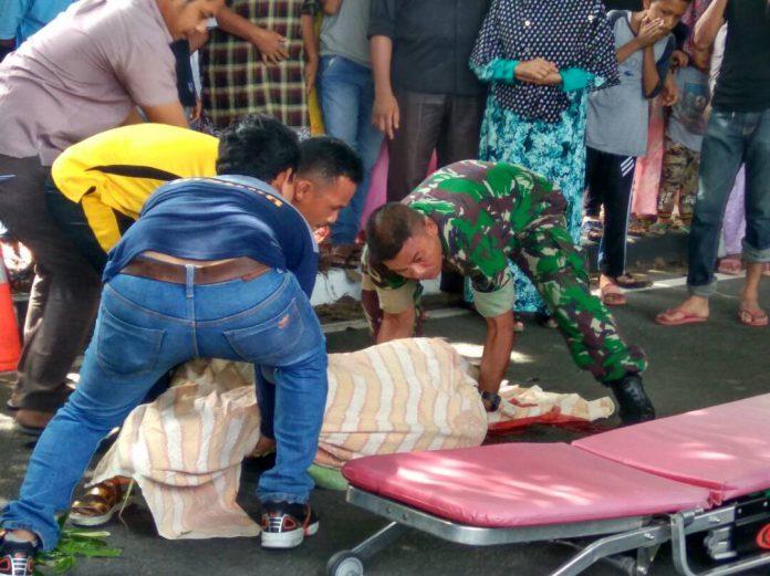 Kecelakaan beruntun di Ingin Jaya, 1 meninggal 4 luka-luka