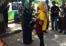 Jelang Ramadhan, Polisi Syariat di Lhokseumawe razia pakaian ketat