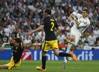 Madrid bungkam Atletico 3-0 lewat hattrick Ronaldo