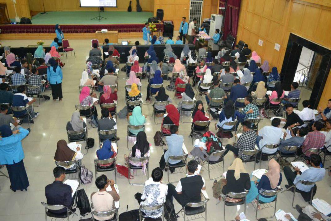 Mahasiswa Teknik Sipil Unsam gelar try out untuk pelajar SMA