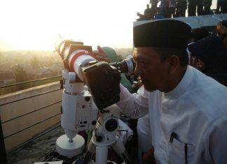 26 Mei, Kemenag Aceh pantau Hilal Ramadhan 1438 H