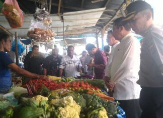 Jelang Ramadhan, Muspida Lhokseumawe sidak ke pasar