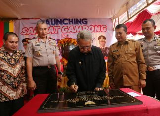 Gubernur resmikan Samsat Gampong Meureudu