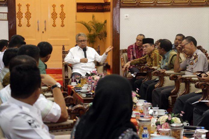 Jelang Ramadhan, Gubernur Zaini perintahkan jaga stabilitas hargabahan pokok