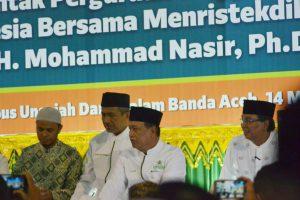 Menristekdikti hadiri Kampus Nusantara Mengaji di Unsyiah Aceh