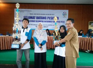 Kecamatan Ulee Kareng juarai lomba cerdas cermat KIG