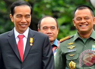 Panglima TNI: Presiden perintahkan tak usah berangkat ke AS