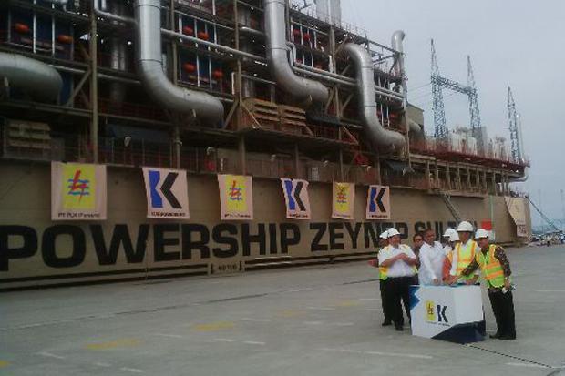 Kapal pembangkit listrik terangi Sumut dan Aceh mulai 3 Juni