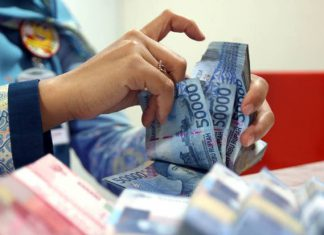 Rupiah pulang melemah 57 poin ke Rp13.352/USD