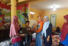 Alumni 94 SMPN 1 Banda Aceh berbagikebahagiaanbersama anak dhuafa