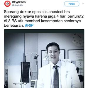 Kemenkes: dokter Stefanus bukan meninggal karena kelelahan