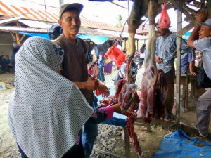 Harga daging meugang di Nagan Raya Rp170.000 per kilogram