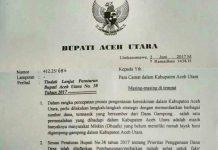Pemkab Aceh Utara keluarkan surat edaran pembangunan rumah kaum dhuafa