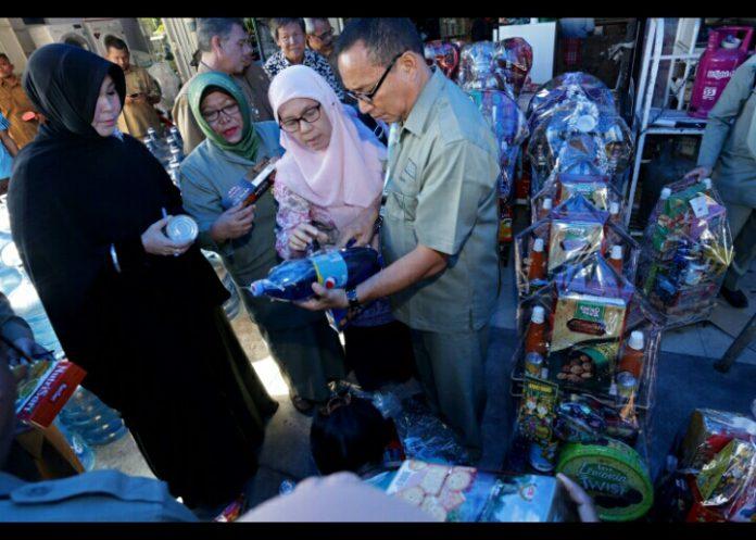 Di Banda Aceh, Illiza pimpin langsung sidak parsel lebaran
