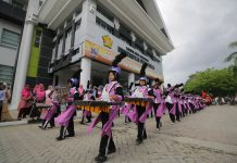 600 peserta ikut Unsyiah Drum Band Competition III