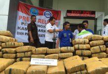 Napi di Lapas Aceh atur pengiriman 222 kg ganja ke Sumut dan Riau
