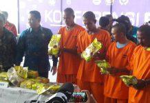 Aksi petugas kejar speedboat gembong narkoba di Aceh Timur