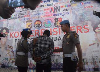 Pelaku pembunuhan di Gampong Mulia telah diboyong ke Mapolresta