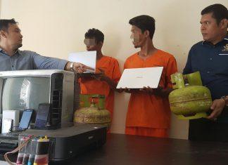 Beraksi di 18 lokasi di Lhokseumawe, dua pembobol berhasil diringkus