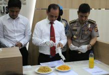 Dari Pasar Lambaro, polisi temukan 103 kg mi berformalin