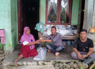 LPD Aceh Utara beri bantuan kepada penyandang disabilitas di Nibong