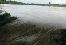 Hujan mengguyur Aceh Tamiang, tanggul sungai jebol