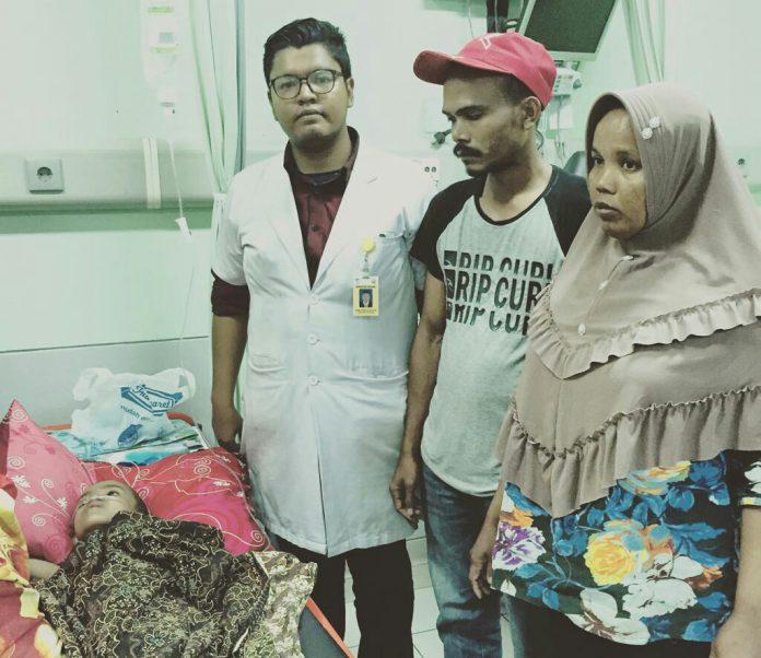 Dek Aftan, penderita epileptikus dari Pidie butuh bantuan