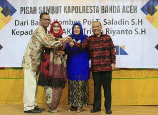Kepada Kapolresta Banda Aceh baru, Aminullah: lanjutkan hubungan baik