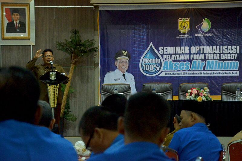 PDAM diminta segera selesaikan persoalan air bersih di Banda Aceh