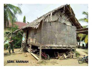 Kurangi angka kemiskinan di Aceh Utara, Kodim bangun 4 rumah