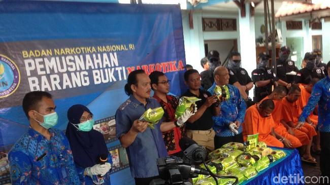 BNN musnahkan 40,1 sabu dari jaringan internasional di Aceh Timur