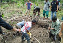 Warga Aceh Utara temukan tulang manusia di sumur tua