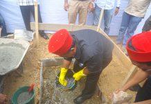 Abusyik letakkan batu pertama pembangunan Asrama Mila