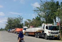 Kecewa dengan perekrutan PT PDSI, LSM di Aceh Utara hadang truk
