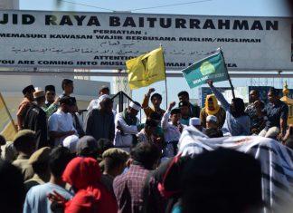 Dukung AKBP Untung dan tolak LGBT, 147 ormas di Aceh gelar aksi
