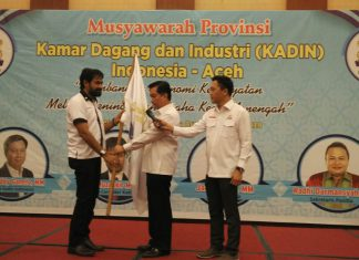 Mualem terpilih sebagai Ketua Kadin Aceh