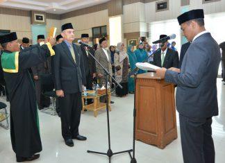 Zakaria resmi menjabat sebagai Sekda Kota Sabang
