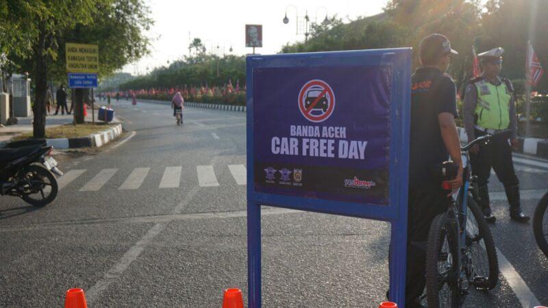 Tak Hanya Di Jakarta Banda Aceh Juga Ada Car Free Day
