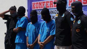 Ini peran 3 tersangka pemesan ratusan kilo sabu-sabu ke Aceh dari Malaysia