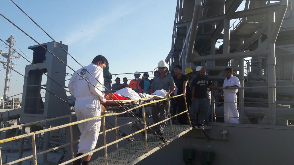 KKM Kapal MV Oseanic Succes ditemukan meninggal saat Salat