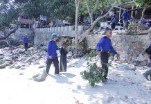 Peringati HPSN 2018, FKH Teurawah bersihkan lokasi wisata